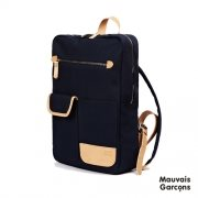 [모베가르송] MV MODERN BACKPACK - Navy