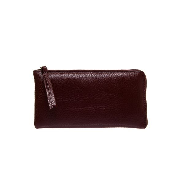 [델피엘] clutch wallet*burgundy*