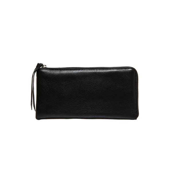 [델피엘]clutch wallet *black*