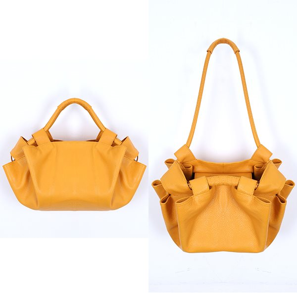 [델피엘]bloom 2way bag*mustard*