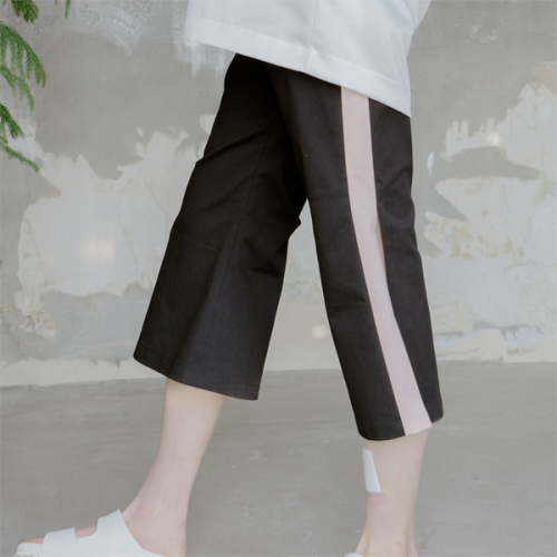[blair by square] Open Seam Wide Slacks (2 Color)