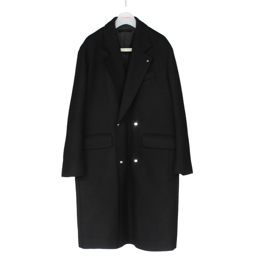 [HAPBUQUE] 16 F/W DOUBLE WOOL COAT (BLACK)