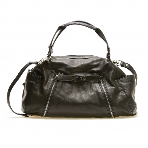 [BOTKIER] Turner Satchel - Black Cowhide w