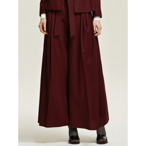 까이에 Knotted Wide Leg Trouser