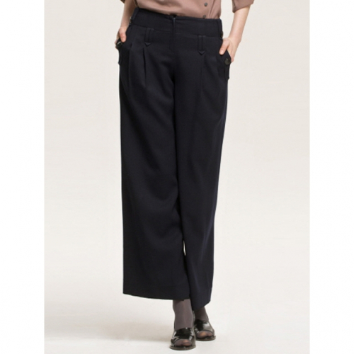 까이에 Pelvis Button Wide Pants
