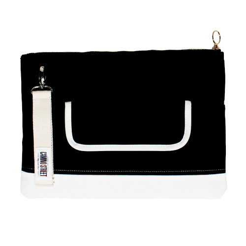 카미노스트릿 CAMINO STREET Clutch Bag  (Black)