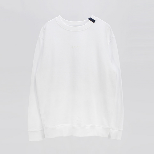 [애티클][ATICLE] Ribbon point Basic Sweatshirt_WT