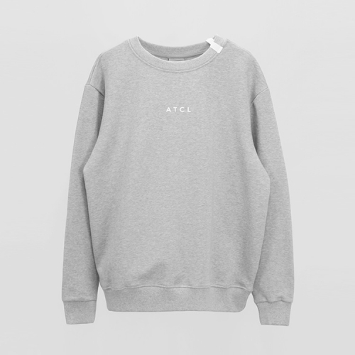 [애티클][ATICLE] Ribbon point Basic Sweatshirt_MG