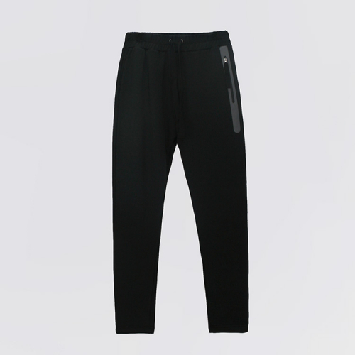 [ATICLE] Welding Zip Baggy Fit Sweatpants_BK