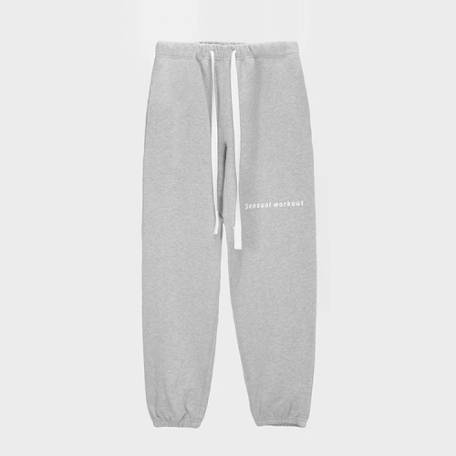 [ATICLE] Ribbon Tape Point Basic Sweatpants_MG