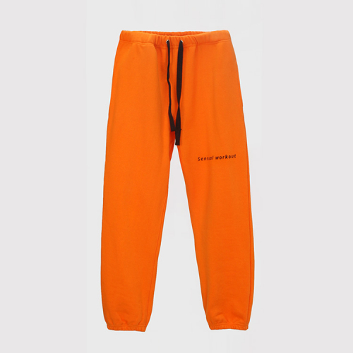 [ATICLE] Ribbon Tape Point Basic Sweatpants_OR
