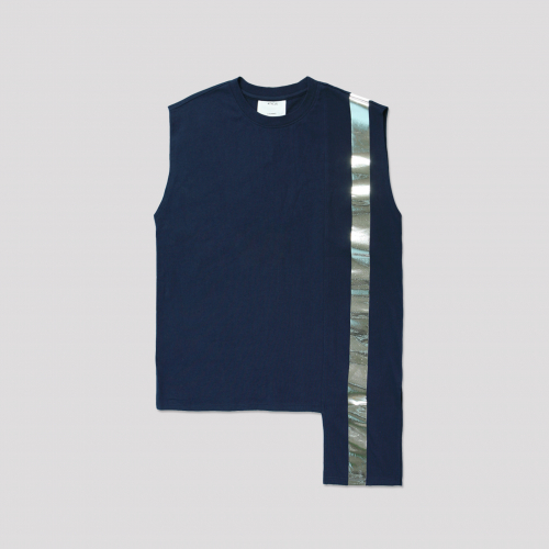 [애티클][ATICLE] Color Block Sleeveless Top_NY