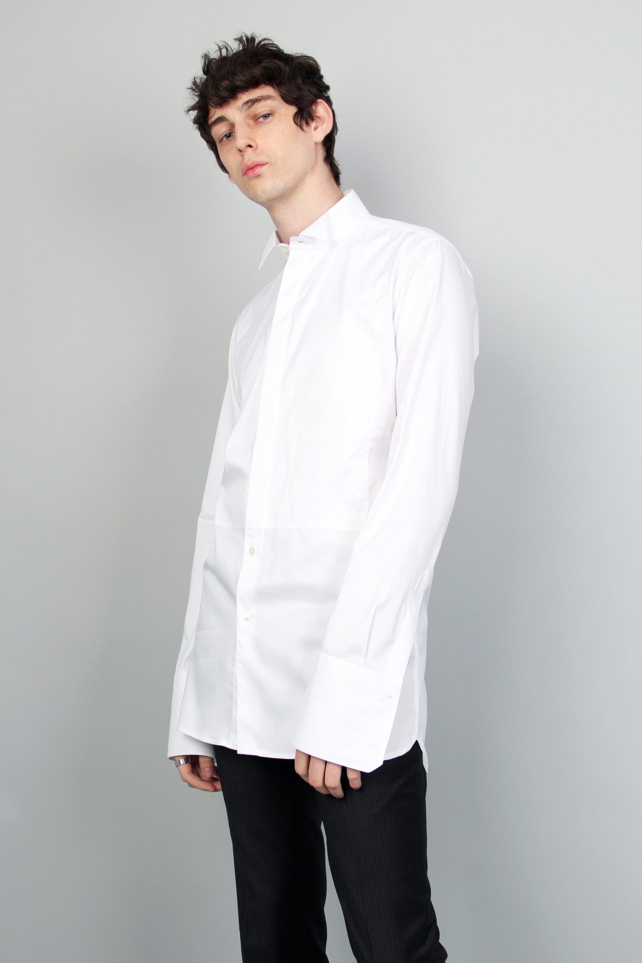 [바로닐] [존바로닐] Cotton poplin evening shirt