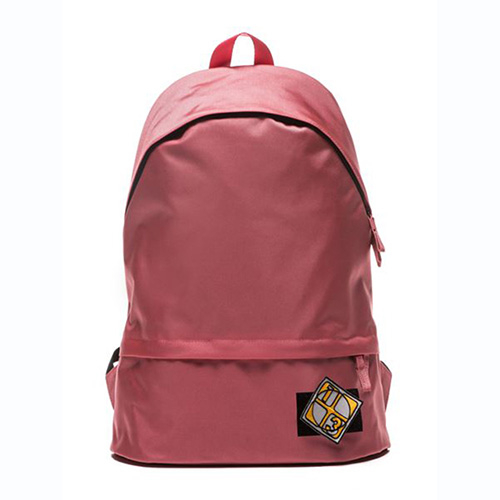 [APO13] VELCRO PATCH DAY BACKPACK (PINK)