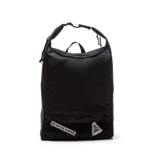 [APO13] VELCRO PATCH 2WAY BACKPACK (BLACK)