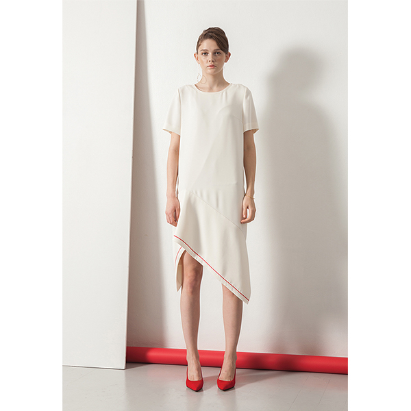 르이엘 [ Le yiel ] Asymmetric hem line One Piece