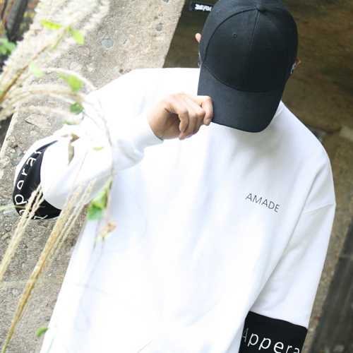 [AMADE] Compound Over Fit Box Tee White
