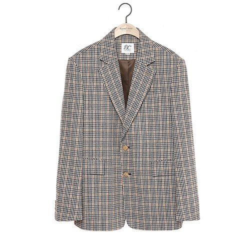 CLASSIC CHECK JACKET BEIGE