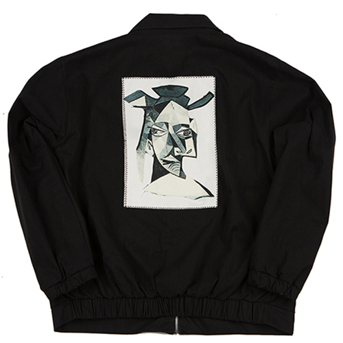 COACH JACKET (PRINT)_BLACK