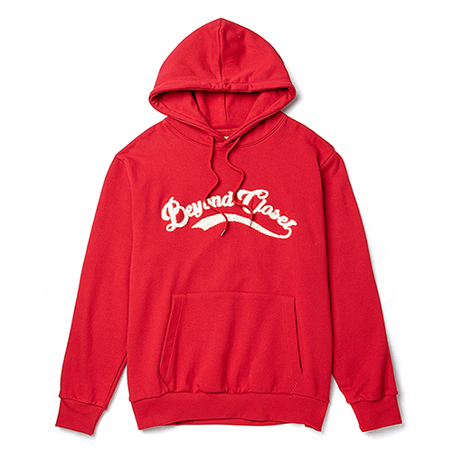 [COLLECTION LINE]ARCH LOGO HOOD T-SHIRTS DEEP RED
