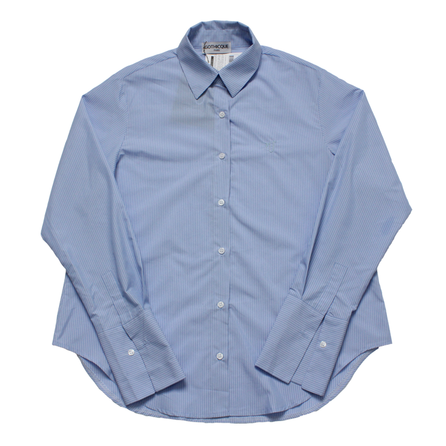 [고디크]BLUE STRIPE SHIRTS [G8SA51F61]