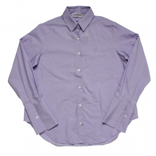 [고디크]PURPLE STRIPE SHIRTS [G8SA51F70]