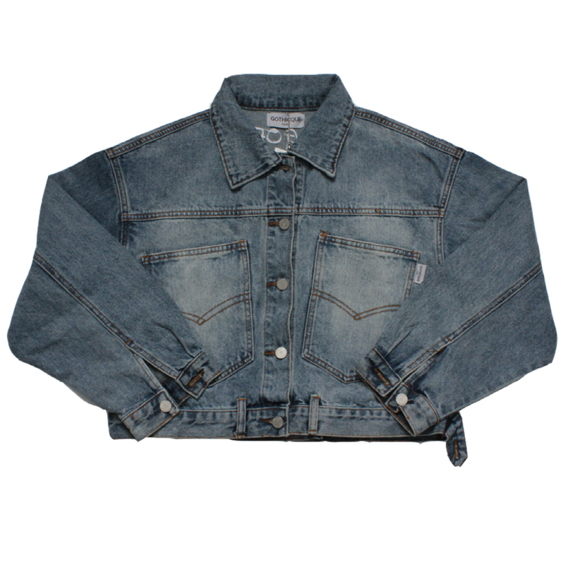 [고디크]SHORT DENIM JACKET [G8SB02F60]