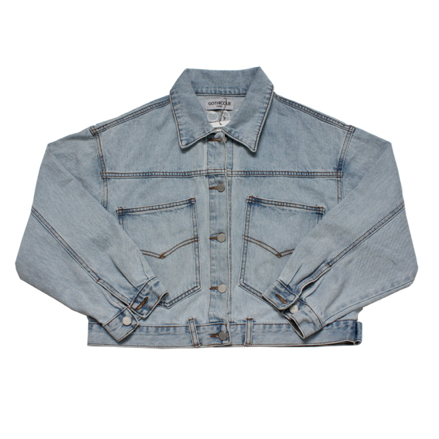 [고디크]SHORT DENIM JACKET [G8SB02F61]