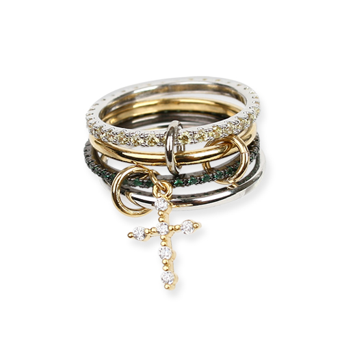 Cross Mix Ring[DL18SSRG03GRF]