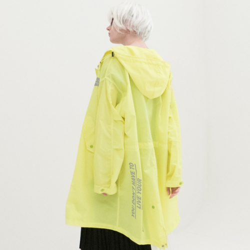 [비에이블투] Reflection Safari Rain Coat (GREEN)