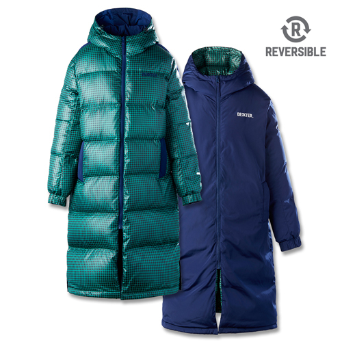 [댁스터] SUGARLOAF REVERSIBLE DOWN COAT(GREEN)