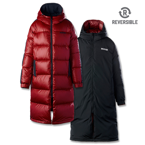 [댁스터] SUGARLOAF REVERSIBLE DOWN COAT(RED)