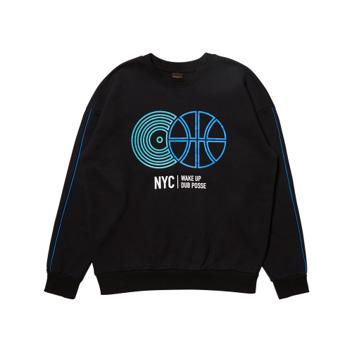 [댁스터]NYC SWEATSHIRT(BLACK)