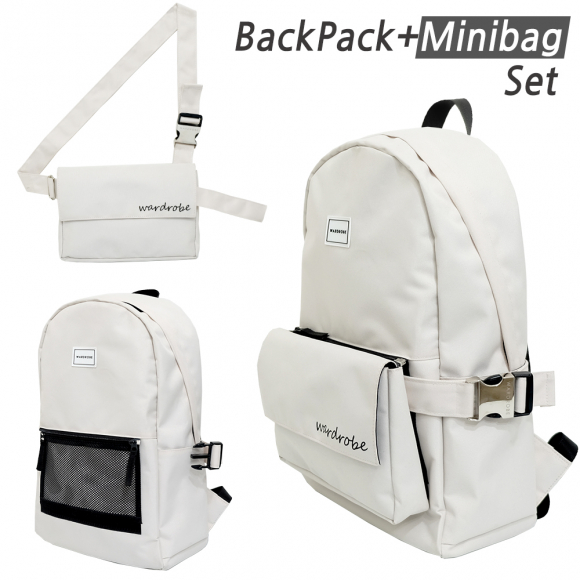 [와드로브] PLUS BACKPACK_IVORY
