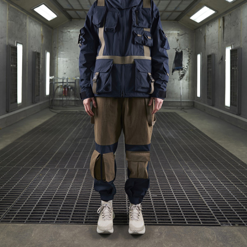 [더블에이씨] Crease Mountain Pants (navy)
